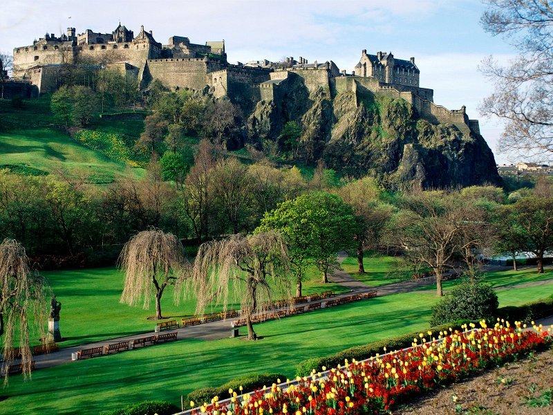 Kastil Edinburgh, Skotlandia