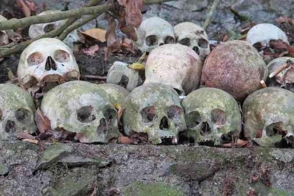 Tidak mengubur jenazah (Bangli, Bali)
