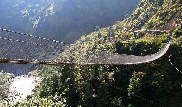 Hanging Bridge of Ghasa