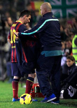 Messi Cedera Lagi