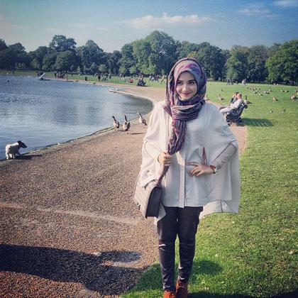 Beautify Yourself With Hijab Hijab Style Gaya Hijab Stylish Ala Zaskia Sungkar