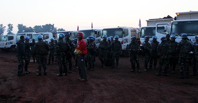 49 Prajurit TNI Konga Pindah Camp
