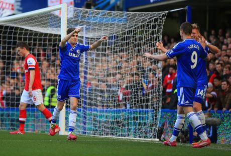 Enam Gol Tanpa Balas Lawan 10 Pemain Arsenal, Chelsea Berpesta di Stamford bridge