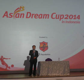 Asian Dream Cup 2014 Digelar di Gelora Bung Karno 2 Juni