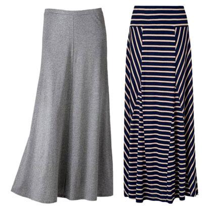model rok panjang casual untuk muslimah