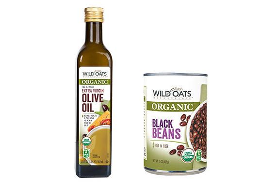organic food and wild oats