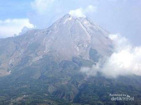 Foto Gunung Merapi Terbaru Tahun 2014 Status Waspada