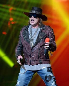 Guns N' Roses Bantah Kabar Pensiun Axl Rose