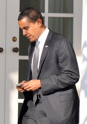 Seperti Apa BlackBerry Milik Obama?