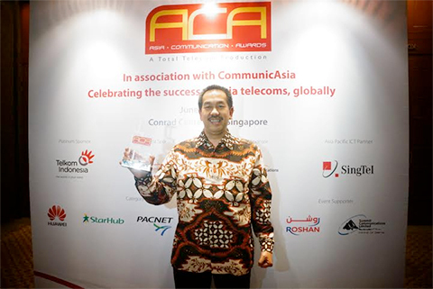 Telkom dinobatkan sebagai Best SME Service dan Project of The Year dalam Asia Communication Awards 2