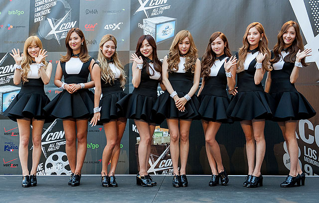 Cantiknya Personil SNSD (Gilrs' Generation) di KCON 2014