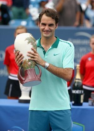 Federer Juara Usai Tundukkan Ferrer