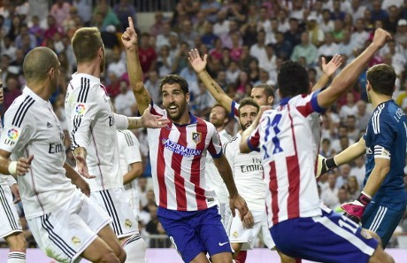 Hasil Skor Atletico Madrid vs Real Madrid