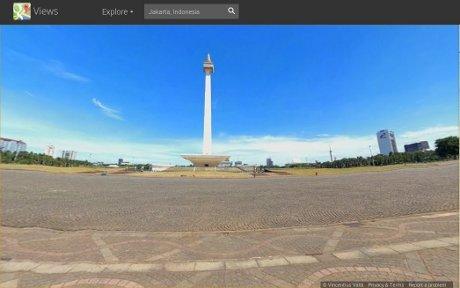 Google Resmikan Street View Edisi Indonesia