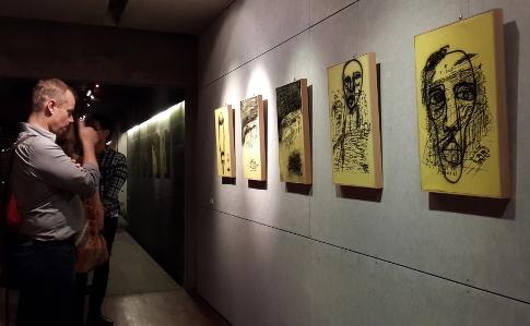 'Coretan' Seniman Padang Dipamerkan di Jakarta