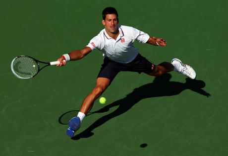 Djokovic Libas Lawannya di Babak Kedua