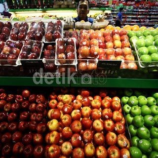 Kementan: Pangsa Pasar Buah Impor Hanya 5%-7%