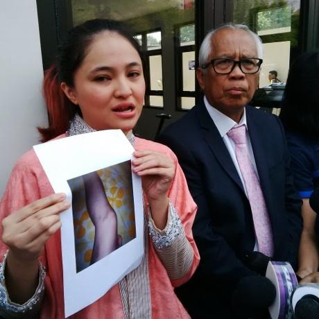 (FOTO) DILARANG BERTEMU ANAK, MARSHANDA BONGKAR KDRT & PERSELINGKUHAN BEN KASYAFANI
