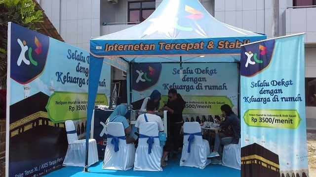 XL Genjot Omzet Roaming dari Layanan Haji Java Pulsa Online Murah Jember Surabaya Jawa Timur