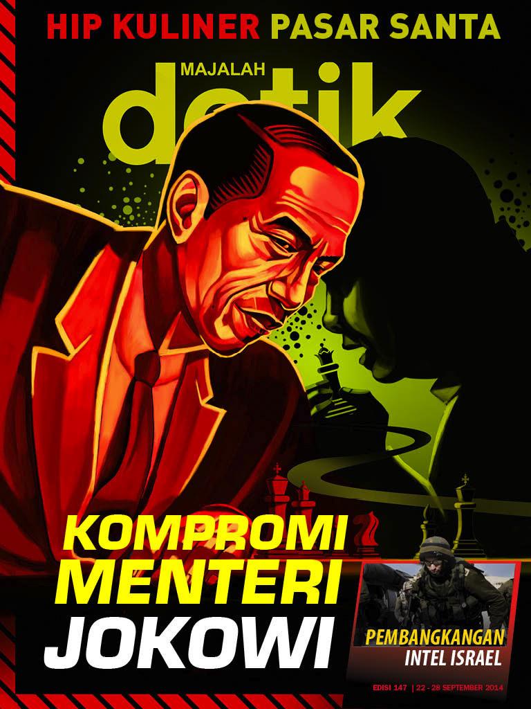 Kompromi Menteri Jokowi
