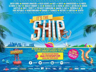 'It's The Ship' Siapkan Pesta di Kapal Royal Caribbean dan Pulau Tropis Langkawi