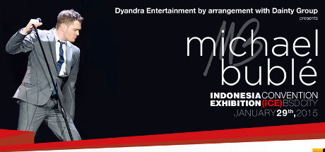 Michael Buble Manggung di Indonesia 29 Januari 2015