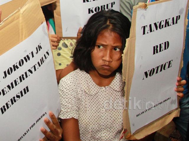 Aksi Dukung Pemerintahan Bersih Jokowi-JK