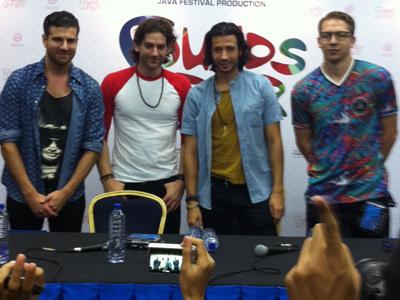 Magic! Tak Sabar Hibur Penggemarnya di Indonesia