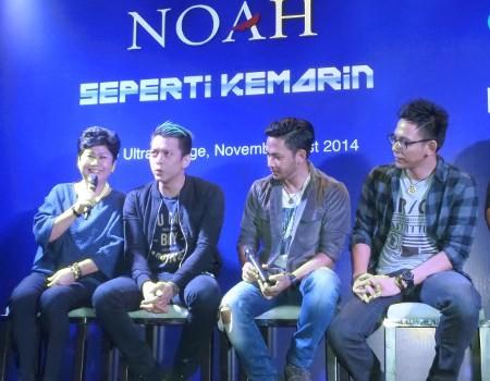 NOAH Mulai Konser Tur Dunia Maret 2015