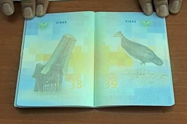 Pesona Wisata Indonesia Dalam Desain Paspor Baru 2