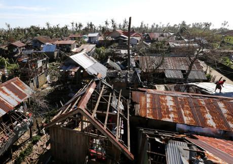 Korban Tewas Akibat Topan Hagupit di Filipina Jadi 27 Orang
