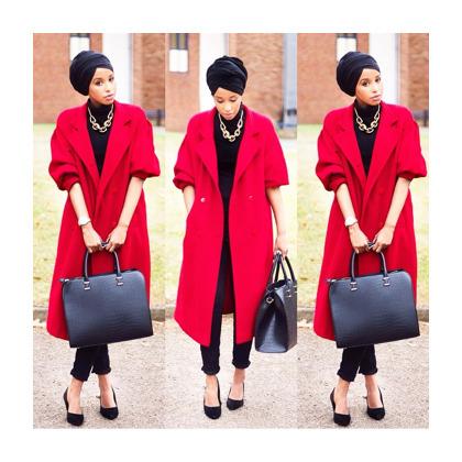 Busana Muslim Trendy Hijab Style Padu Padan Turban Yang Modis Dan