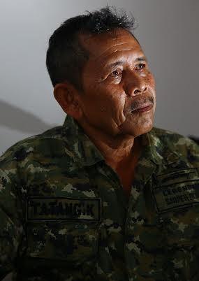 Tatang, Sniper Legendaris TNI di Timor Leste ini Kini Hidup Membuka Warung Makan