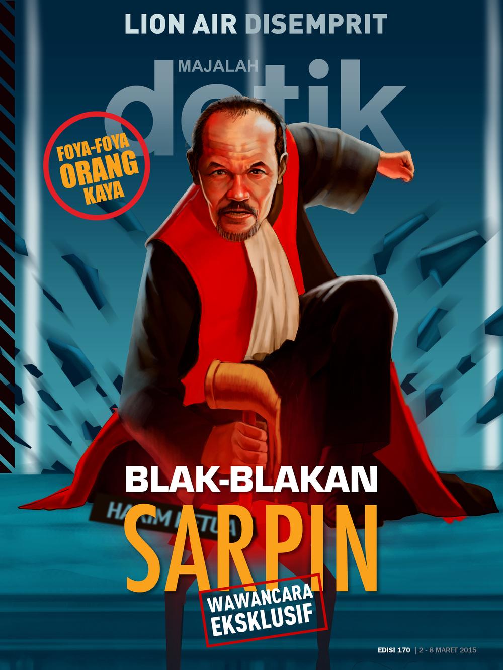 Blak-blakan Sarpin