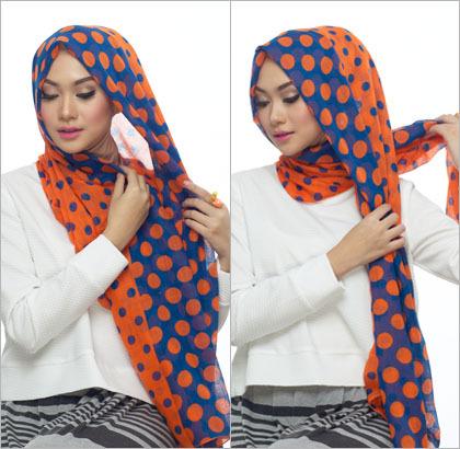 Gimana sih? Indah Nada Puspita Sari Berhijab ala Wanita Turki dengan Polyester Scarf Apa Masih Terlihat Cantik?
