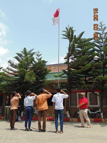 Tertangkap Mau Tawuran, Pelajar di Padang Dihukum Hormat Bendera