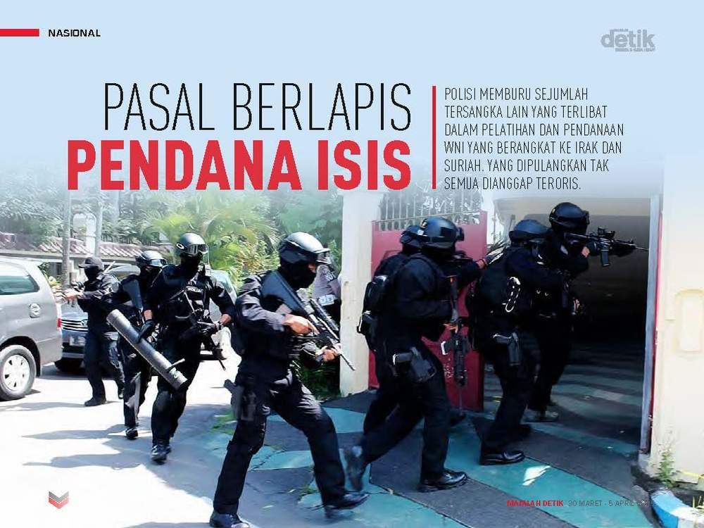 Pasal Berlapis Pendana ISIS