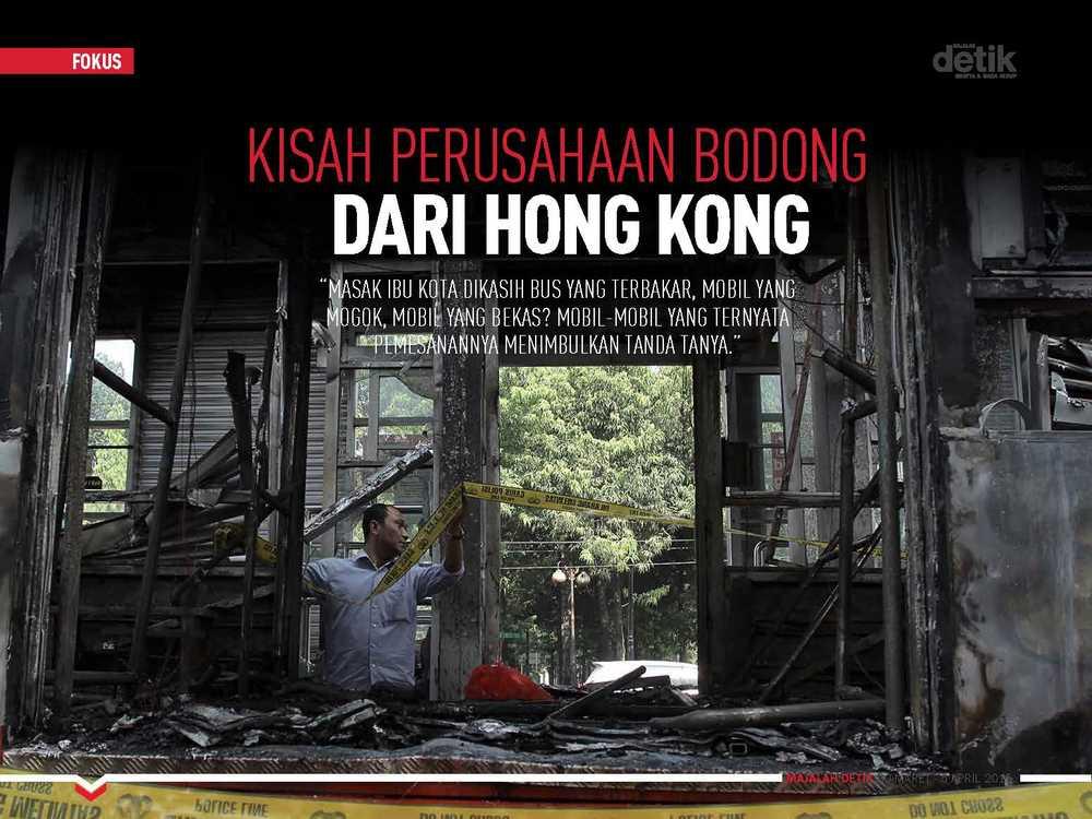 Kisah Perusahaan Bodong dari Hong Kong