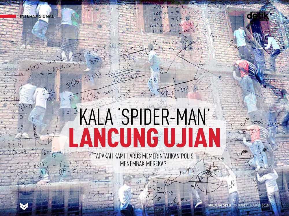 Kala Spider-Man Lancung Ujian