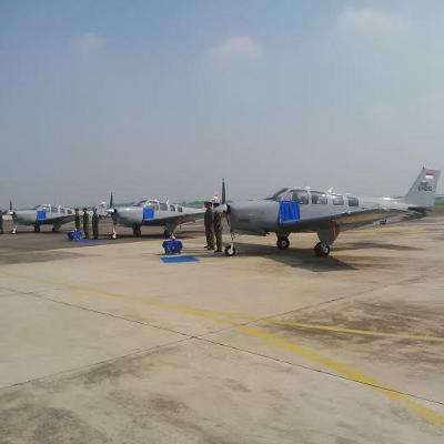 TNI AL Tambah 4 Pesawat Latih Bonanza G36