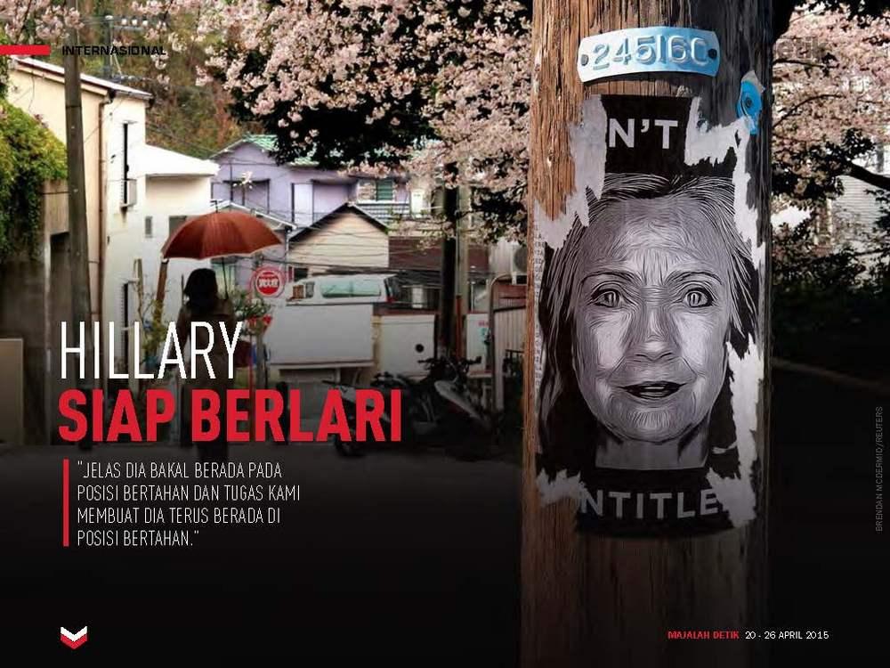 Hillary Siap Berlari
