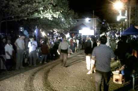 Sejumlah Ambulans Pembawa Jenazah Terpidana Mati Tiba di Dermaga
