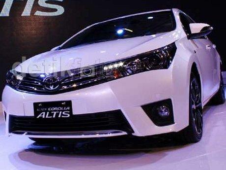 Toyota Indonesia Pelajari Kelayakan Produksi Corolla Altis
