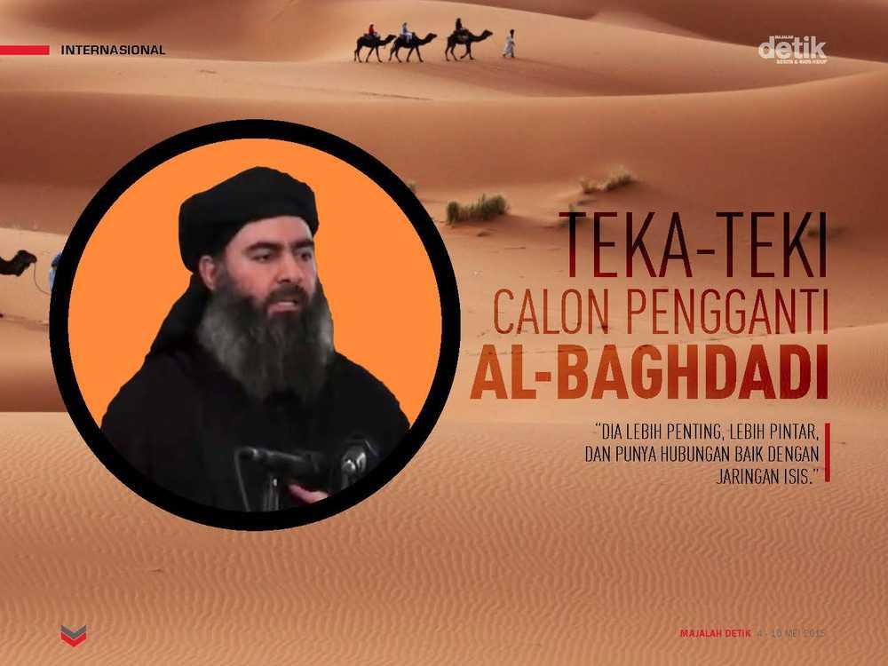 Teka-teki Calon Pengganti Al-Baghdadi