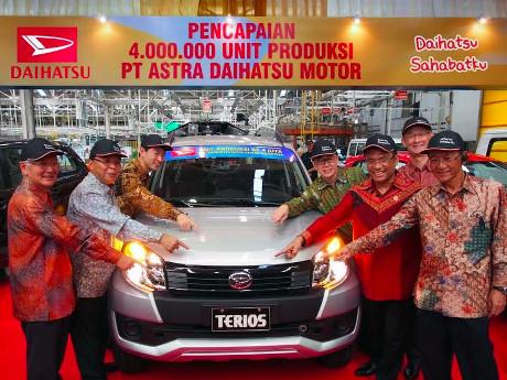 Terios, Mobil 4 Juta Daihatsu di Indonesia