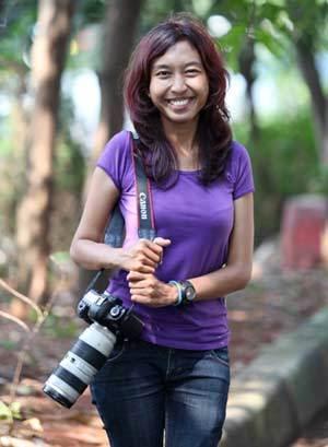 Regina 2 tahun Blusukan di Hutan Demi Wildlife Photography