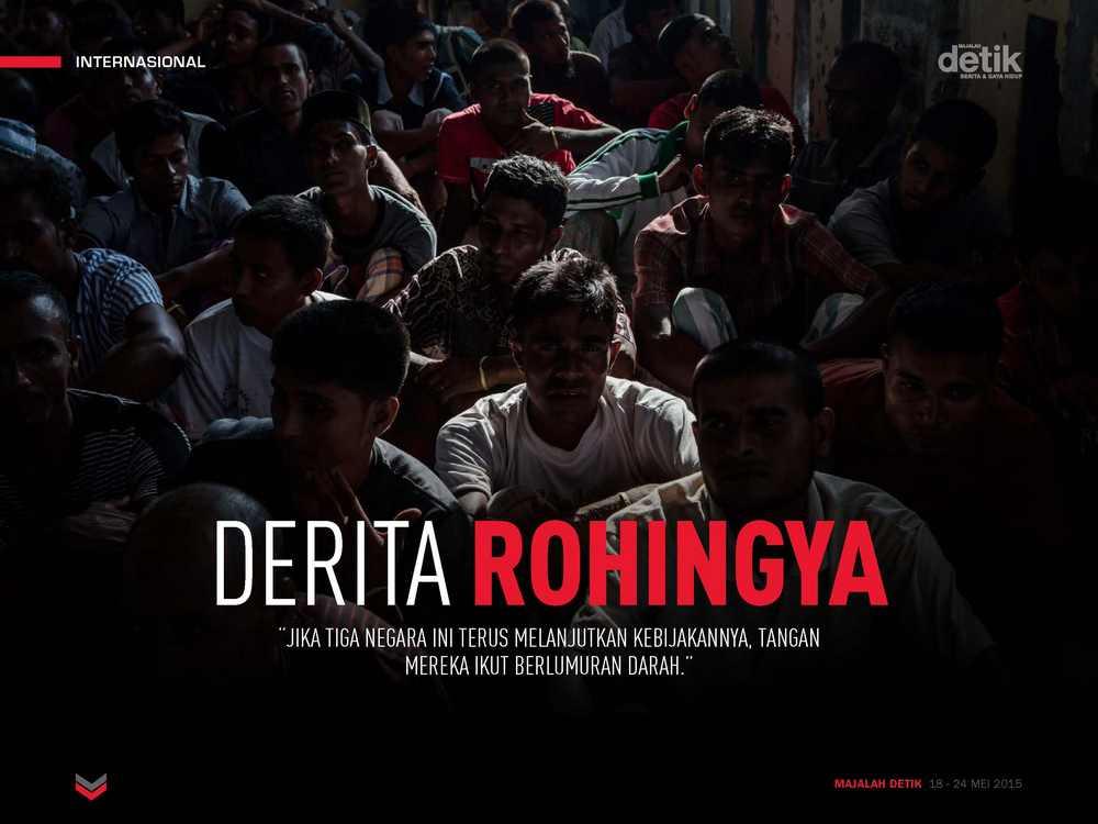 Derita Rohingya