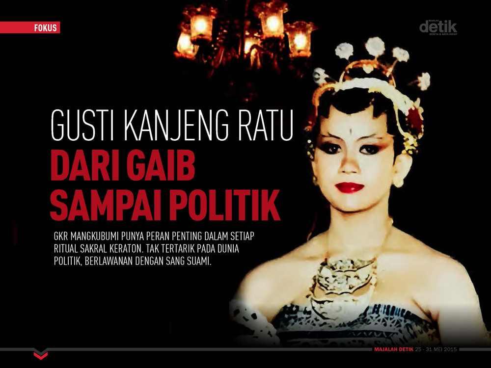 Gusti Kanjeng Ratu dari Gaib sampai Politik