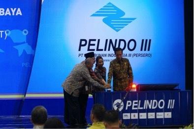 Presiden Jokowi Resmikan Terminal Teluk Lamong - Surabaya
