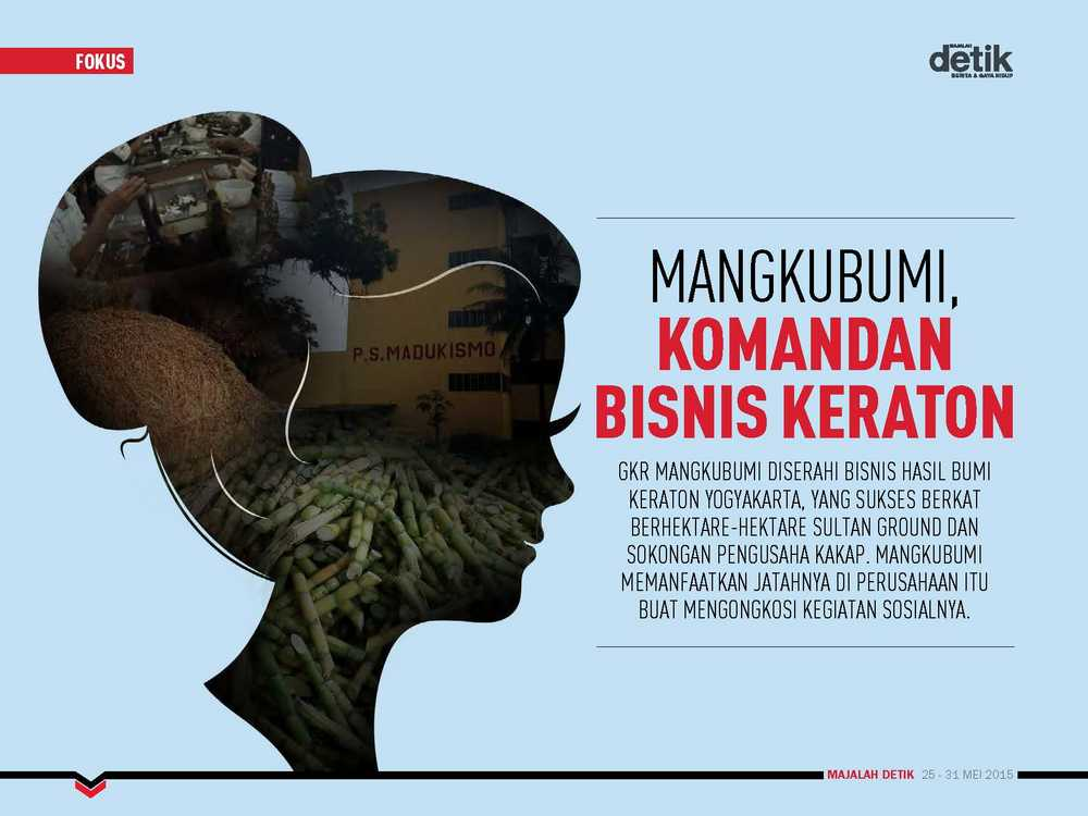 Mangkubumi, Komandan Bisnis Keraton